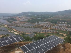 30MW photovoltaic poverty alleviation power statio